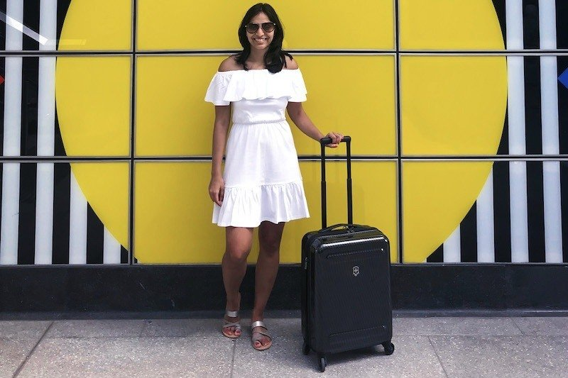 best suitcases for carry on travel Victorinox Etherius Carry On Suitcase