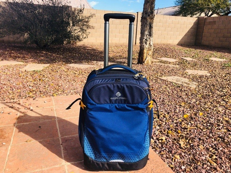 Eagle Creek carry on sized suitcase