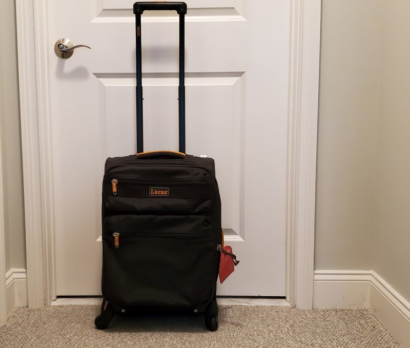 best rolling suitcases Lucas carry on