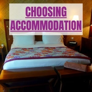 Travel Made Simple choosing accommodation