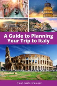 Are you planning a trip to Italy? Here's how to make the best Italy itinerary for your vacation so you can see as much as the country has to offer.