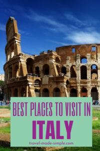 Our tips and tricks will help you plan your Italy itinerary so you don't miss Italy's best places to visit. Read this blog post to learn where to go and start planning your dream vacation.