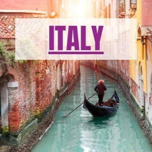 destinations Italy itineraries and tours