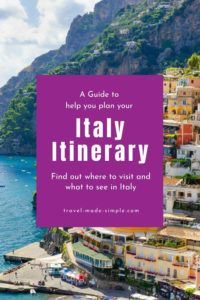 Our guide to planning an Italy itinerary will show you all the things you can do and see in Italy's most popular places. Whether you have a few days or a couple of weeks, this will help you plan a fantastic trip to Italy.
