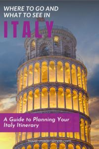 Read our guide to planning an Italy itinerary before you book your trip. We'll help you see the best this country has to offer from the highlights to the hidden gems.