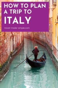 Plan a trip to Italy and see what all the fuss is about! Italy really does live up to the hype, so make sure you use our tips for planning the best Italy itinerary.