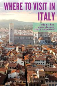 With so many great cities and landscapes, it can be hard to decided where to go in Italy. This blog post will help you plan a trip to Italy if you have a few days or a few weeks.