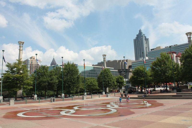Atlanta itinerary Centennial Olympic Park