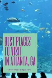 Atlanta is one of the best cities to visit in the US South. Before you go, read this post with tips from a local to help you plan your Atlanta itinerary. | Atlanta itinerary | Atlanta travel tips | what to do in Atlanta