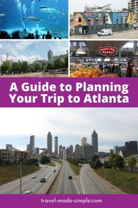 Atlanta has lots of interesting history, fun attractions, and delicious food. Start planning your trip with this Atlanta itinerary and don't miss a thing! | Atlanta itinerary | Atlanta travel tips | what to do in Atlanta