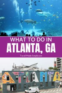 Plan your trip to Atlanta with this itinerary for 3 days in Atlanta, GA. This itinerary shows you the best things to do in Atlanta in each area of the city. #atlanta #georgia #usa #itineraries #travelplanning #traveltips