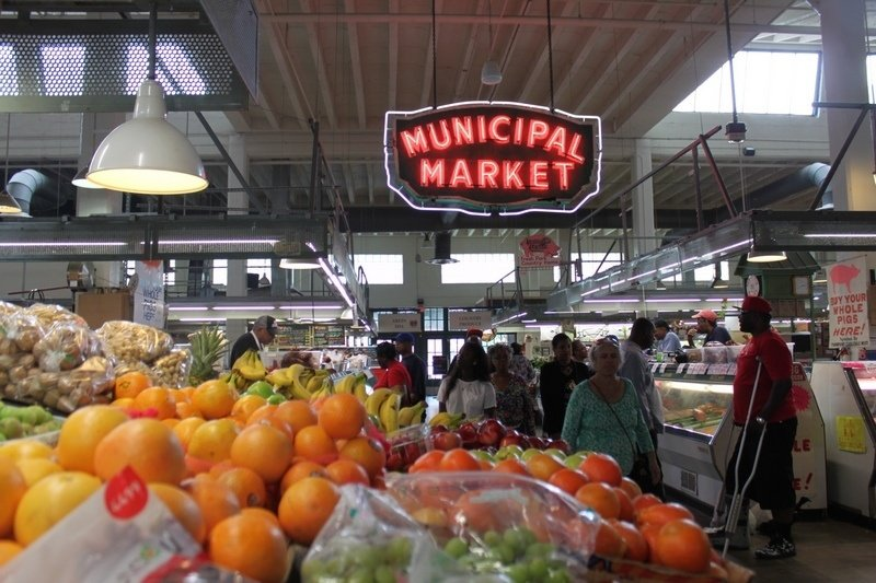 what to do in Atlanta - Sweet Auburn Curb Market
