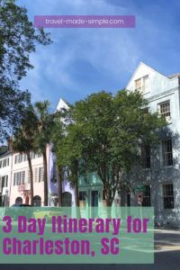 Plan your trip to Charleston with this itinerary. We'll show you how to spend 3 days in Charleston, SC, what to do and see, and lots of other tips to help plan your vacation. | South Carolina | Charleston travel tips | Charleston itinerary | what to do in Charleston | things to do in Charleston | travel planning | how to plan a trip to Charleston