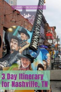 Plan a trip for 3 days in Nashville using these tips from an expert. This itinerary will show you a wide range of things to do in Nashville, TN, including day trips.   Nashville travel tips   things to do in Nashville   what to do in Nashville   Nashville itinerary   Tennessee travel tips