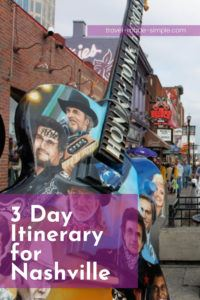 Nashville has lots of interesting history, fun attractions, and delicious food. Start planning your trip with this Nashville itinerary and don't miss a thing!   Nashville travel tips   things to do in Nashville   what to do in Nashville   Nashville itinerary   Tennessee travel tips