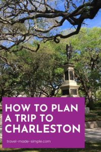 Plan a trip for 3 days in Charleston using these tips from an expert. This itinerary will show you a wide range of things to do in Charleston, SC. | South Carolina | Charleston travel tips | Charleston itinerary | what to do in Charleston | things to do in Charleston | travel planning | how to plan a trip to Charleston