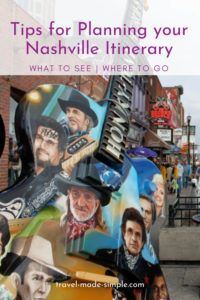 Plan your trip to Nashville with this itinerary. We'll show you how to spend 3 days in Nashville, TN, what to do and see, and lots of other tips to help plan your vacation.   Nashville travel tips   things to do in Nashville   what to do in Nashville   Nashville itinerary   Tennessee travel tips
