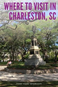Charleston is one of the most beautiful cities to visit in the US South. Before you go, read this post with tips from an expert to help you plan your Charleston itinerary. | South Carolina | Charleston travel tips | Charleston itinerary | what to do in Charleston | things to do in Charleston | travel planning | how to plan a trip to Charleston