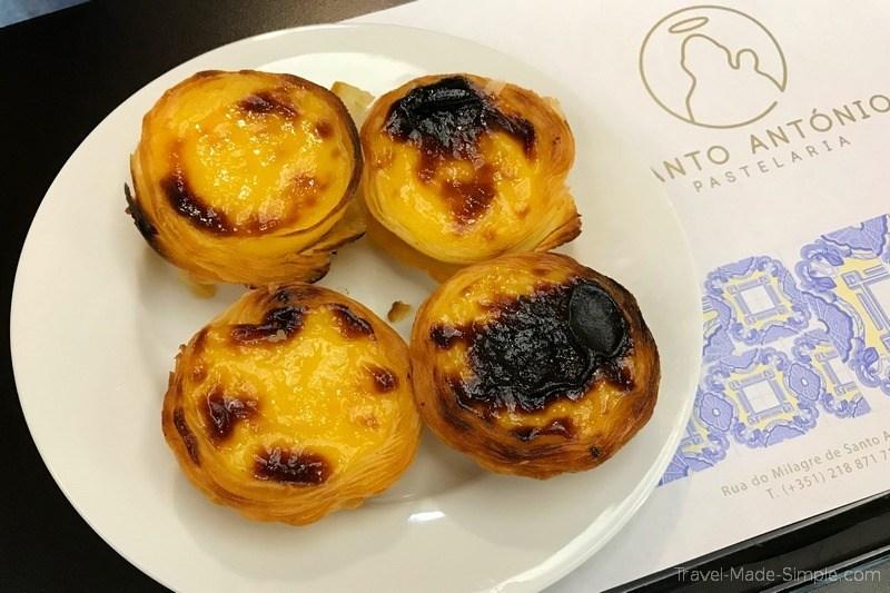 Lisbon food tour review - pastel de nata
