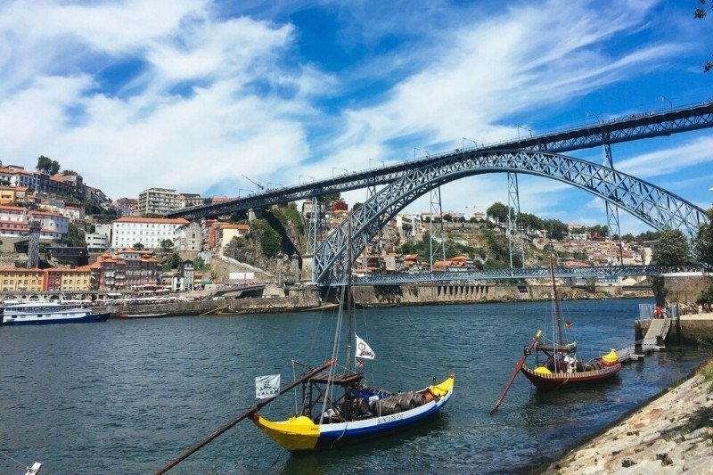 Porto itinerary - Dom Luis I Bridge in Porto