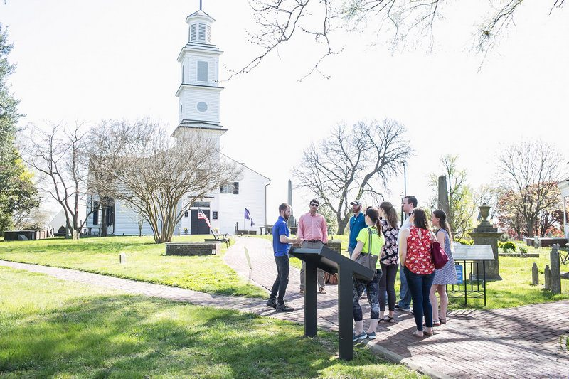 itinerary for 3 days in Richmond - Tour of the Church