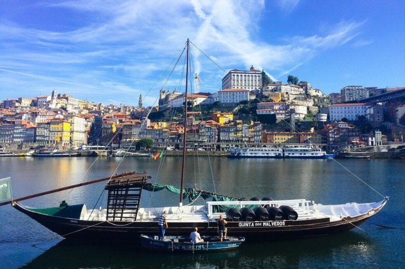things to do in Porto - View of Porto from Gaia