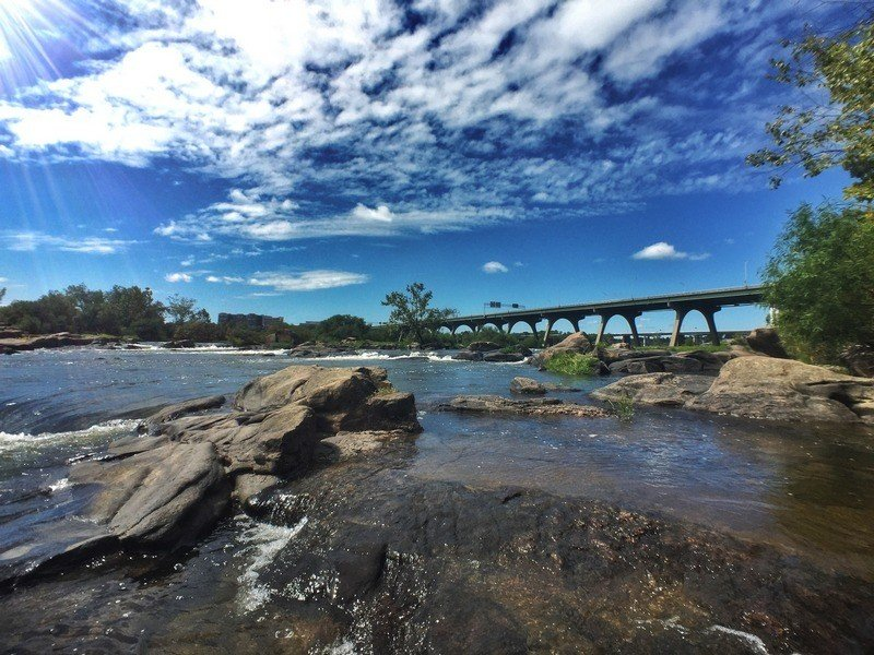 things to do in Richmond - Pipeline Photo Of Bridge