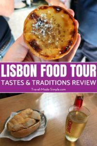 We took this Lisbon food tour with Devour to see a different part of the city and learn about the cuisine and culture of Lisbon, Portugal. #lisbon #portugal #traveltips #travelplanning #foodtours
