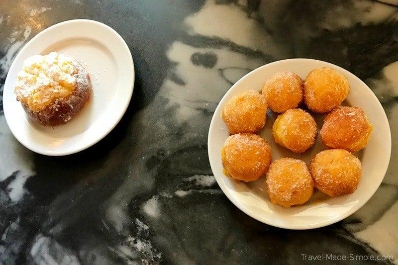 Lisbon food tour review Devour - pastries