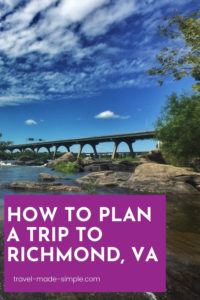 Richmond, VA is packed with history, arts, outdoor activities, and lots of tasty food. Here's our itinerary for 3 days in Richmond to help plan your trip.   Richmond itinerary   Virginia travel tips   RVA travel tips   Richmond travel tips   what to do in Richmond VA