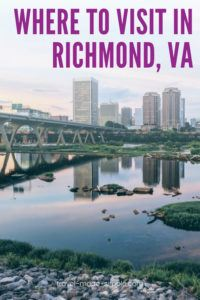 If you're planning a trip to Richmond, VA, don't miss this guide! We'll help you plan out your itinerary so you'll know what to do in Richmond, including history and arts, food, and outdoor activities. | Richmond itinerary | Virginia travel tips | RVA travel tips | Richmond travel tips | what to do in Richmond VA