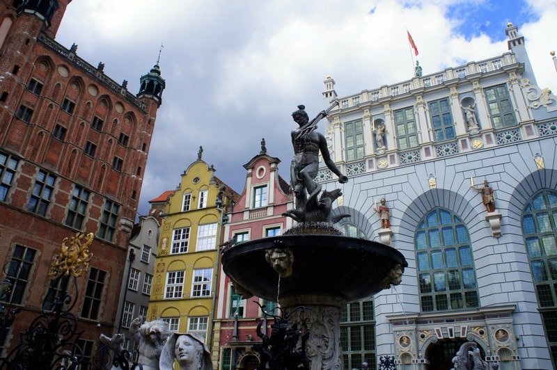 one week  in Poland - The Old Town and its famous Neptun are the highlights of Gdańsk