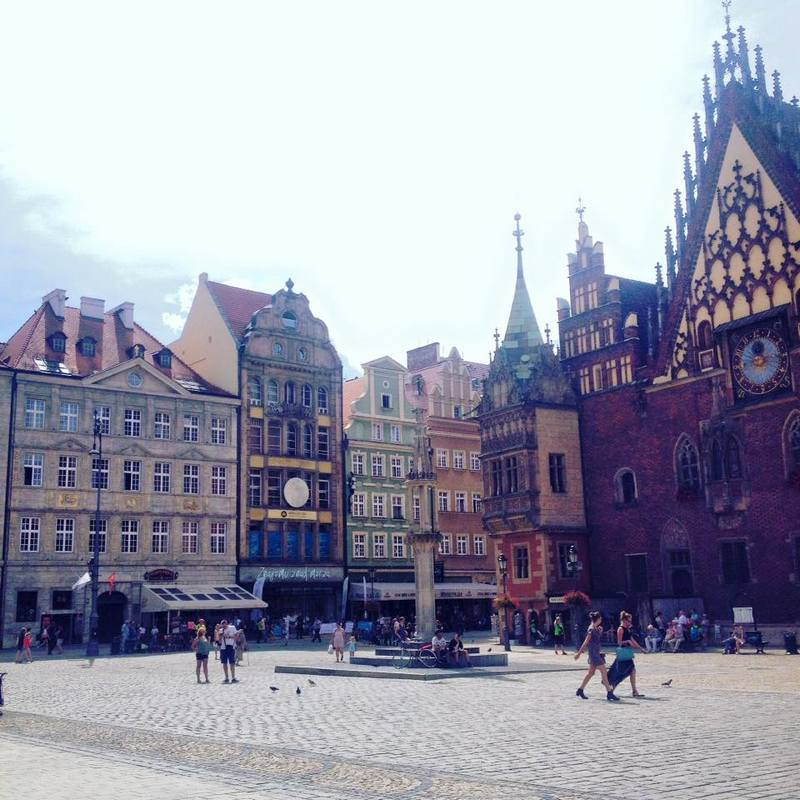 Old Town Wroclaw Poland