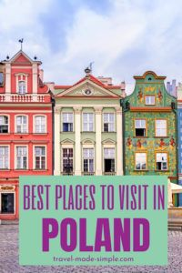 This blog post has info on all the best places to visit in Poland. Use this to help you plan a trip to Poland and have an enjoyable itinerary.