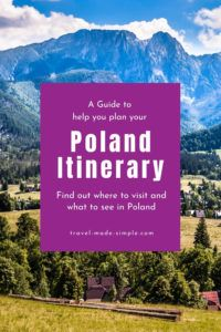 Using our guide to planning a Poland itinerary, you're sure to see some fantastic destinations in Poland. Before you book your trip, read this post for our tips.