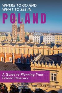 This guide to planning your Poland itinerary will help you map out the best trip to the most beautiful parts of Poland. Be sure to read our post before you book your trip.