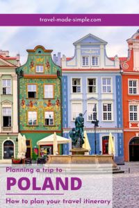 Are you planning a trip to Poland? Here's how to plan your Poland travel itinerary and enjoy your trip. Learn which cities to visit with our guide.