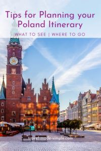 Check out these tips for planning a Poland itinerary to find out where you should visit on your trip. This is a wonderful country with so many great destinations.