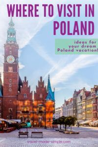 Where should you go in Poland? Check out our blog post with suggestions for where to visit in Poland and start planning your itinerary.