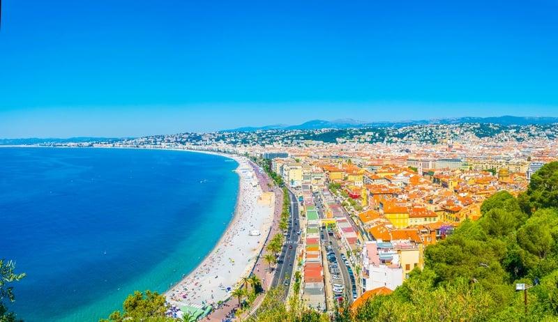 Nice, France - Mediterranean places to visit