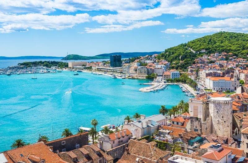 Split, Croatia - places in the Mediterranean