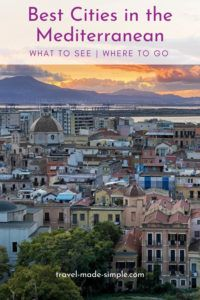 The Mediterranean Sea is a diverse region with tons of beauty and history. The cultures range from southern Europe to northern Africa to the Middle East. Here's a guide to some of the best cities in the Mediterranean. | where to go in the Mediterranean | best cities in the Mediterranean | Mediterranean cities to visit | travel tips | travel planning