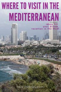 There are so many amazing cities on the Mediterranean Sea from the obvious ones to cities you hadn't thought about visiting before. Read our guide to some of the best cities in the Mediterranean for some vacation inspiration. | where to go in the Mediterranean | best cities in the Mediterranean | Mediterranean cities to visit | travel tips | travel planning
