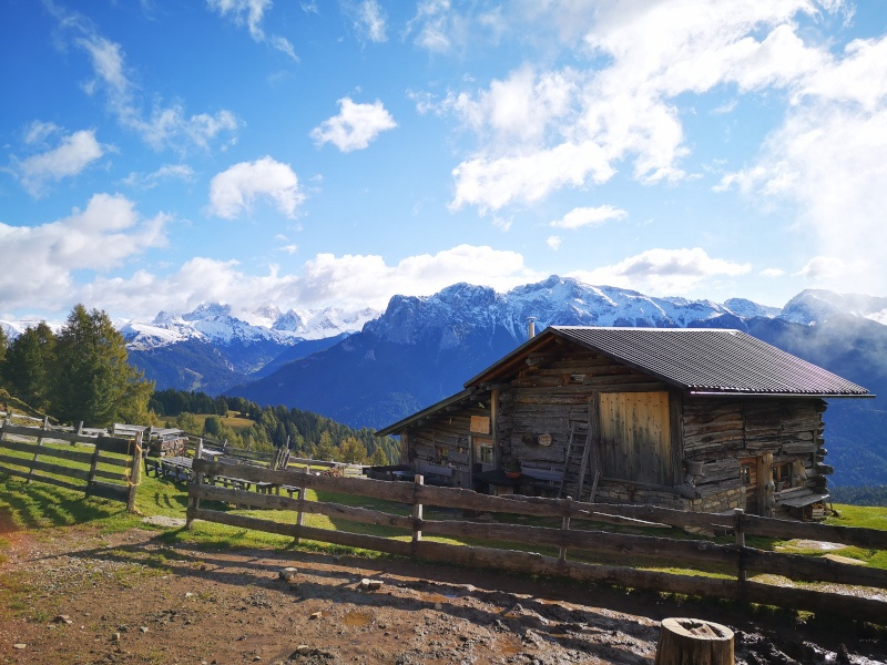 Italy Dolomites View - hassles of traveling during covid