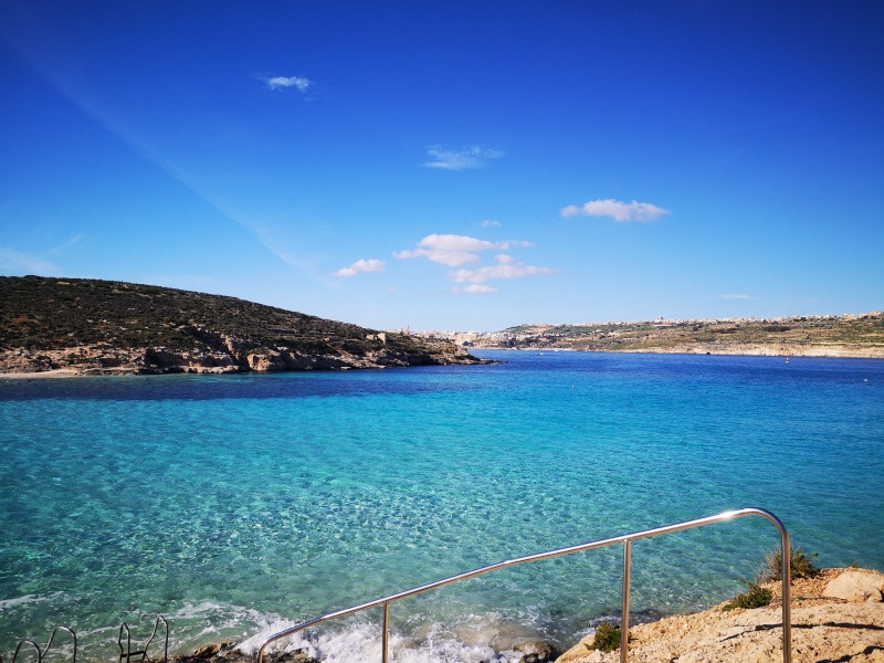Malta Blue Lagoon - being flexible while traveling during covid