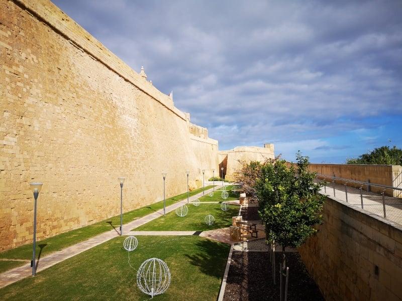 Malta Citadel - traveling in the time of corona